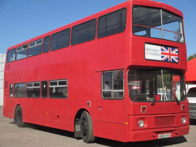 Volvo Near Me >> 1990 Leyland Olympian Double Decker Bus | Buses For Sale